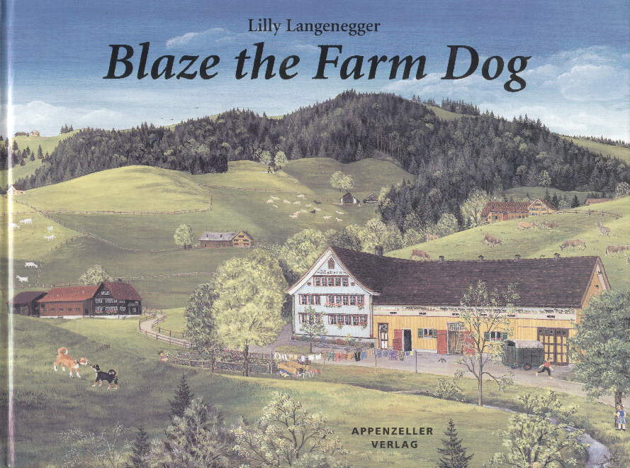 Blaze the Farm Dog
